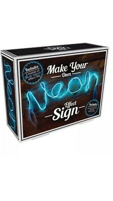 Make Your Own Neon Effect Sign 3M Neon String Light Message Kit (Make Your Own Neon Effect Sign Kit)