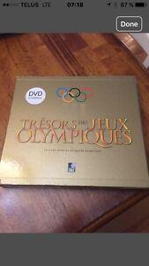 """Livre """" Trésors des jeux Olympiques"""" neuf"""
