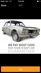 I buy junk vehicles any condition top dollar paid