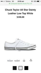 White leather converse BRAND NEW Clare Clare Area Preview