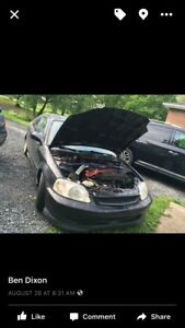 2000 civic si with an lsvtec in it