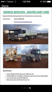 Water cart truck for hire Tuart Hill Stirling Area Preview