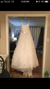 Alfred Angelo Wedding Dress. Size 10