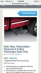Side steps and running boards