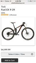 "Trek fuel EX 9 29 17.5"" men's mountain bike Minmi Newcastle Area Preview"