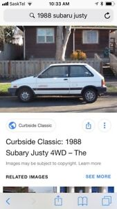 TESTING WATERS- 1988 Subaru Justy 4WD