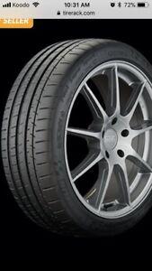 255/35 zr 19 96Y Michelin Pilot Super Sport Tires
