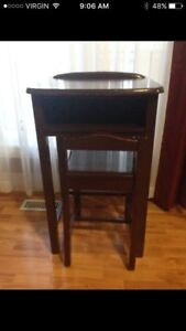 Antique Table & Chair