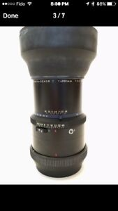MAMIYA 250mm lens