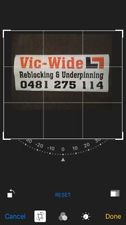 Vic-wide reblocking