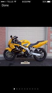Trade or Sell 2000 Honda CBR 600F4