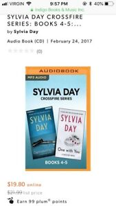 Wanted Sylvia Day books