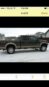 Beautiful 2006 F350 bullet proofed