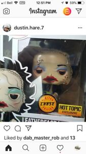 Looking for. I DO NOT HAVE hot topic chase leatherface