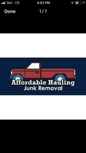 Junk and garbage removal
