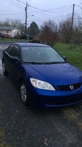 2005 Civic coupe trade