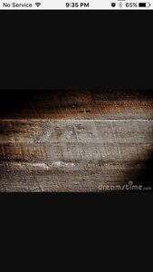 WANTED - distressed barn board or reclaimed wood
