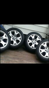 """BMW rims and tires 19"""""""