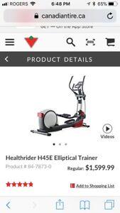 Healthrider H45E Elliptical Trainer