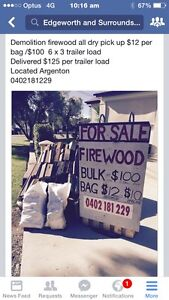 Firewood Argenton Lake Macquarie Area Preview