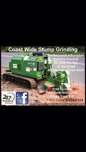 Stump grinding and tree removal Wollongong Wollongong Area Preview