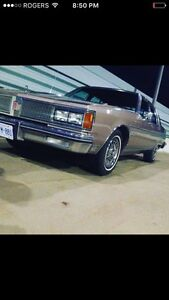 1984 Oldsmobile brougham regency