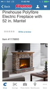 PINEHOUSE ELECTRIC FIREPLACE