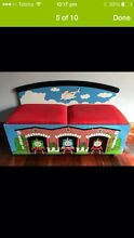 Thomas Wooden Toybox/ Seats on Castor Wheels Scarborough Stirling Area Preview