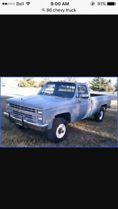 Looking for an old chev 4x4