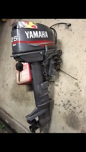 Yamaha 25 outboard. Mackay Mackay City Preview