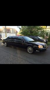 2002 CADILLAC DEVILLE LIMO 6 DOORS