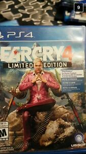 PS4 video games BO3 farcry primal an farcry 4