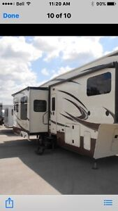 Gorgeous fifth wheel trailer