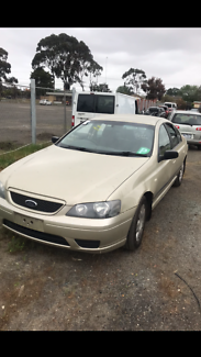 Ford Falcon ba 2005 wrecking all parts