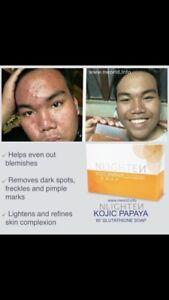 Kojic glutathione papaya soap