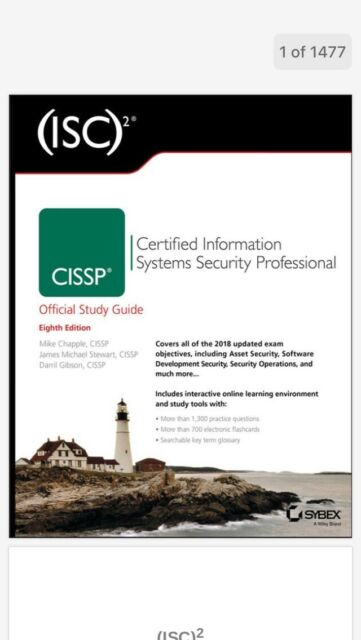 sybex cissp 8th edition test bank
