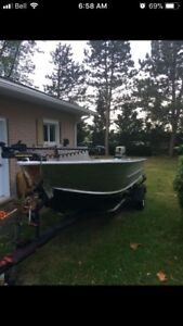 16ft aluminum boat 30hp motor