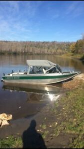 2008 North River Trapper jet boat