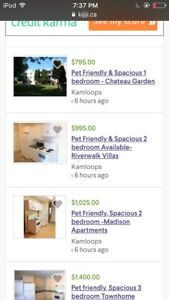 Looking To Rent.