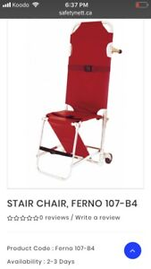 Combo stair chair stretcher ferno