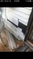 High quality siding soffit fascia repairs starting at $100