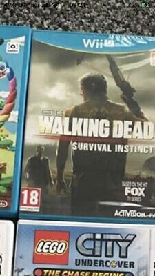 Walking Dead Wii U Game New And Sealed