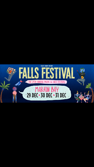 Two falls tickets discounted price $600 can buy separately