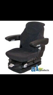 Grammer Charcoal Grey Air Ride Seat Jd Case New Holland Allis  Msg95ggrc