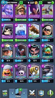 Clash Royale 11Lvl With 10 Legendary