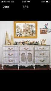 Large French Provincial Dresser