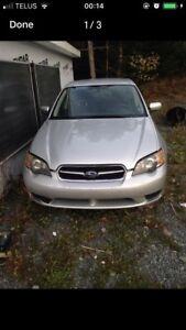 2005 Subaru legacy parts