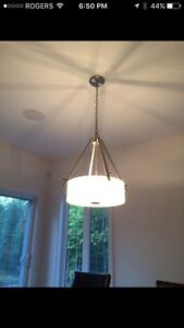 Dining Room Light Fixture - Like New