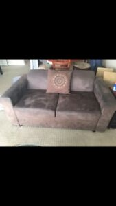 Micro Suede Lounge Couch  Modular + 2 seater South Perth South Perth Area Preview