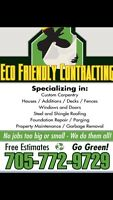 Free estimates- Eavestrough cleaning and repair
